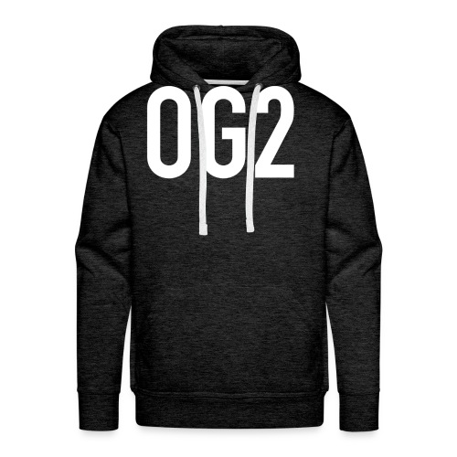 17094 2COG2 LOGO - Men's Premium Hoodie
