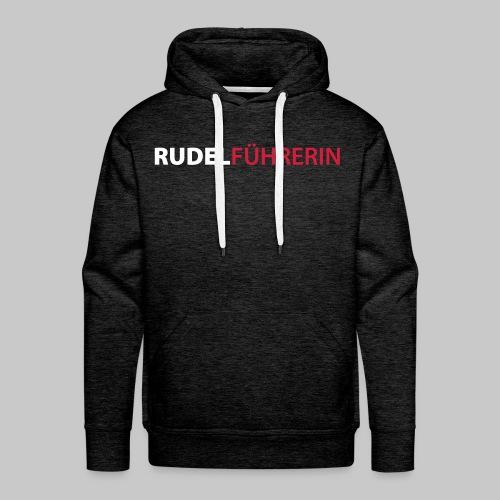 Rudelführerin - Männer Premium Hoodie