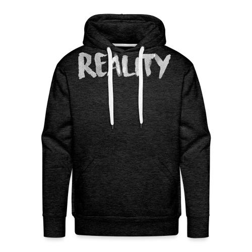Reality - Sweat-shirt à capuche Premium pour hommes