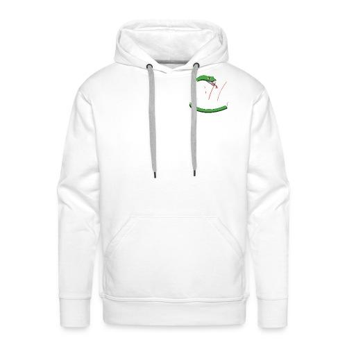 Savage Snake White - Mannen Premium hoodie
