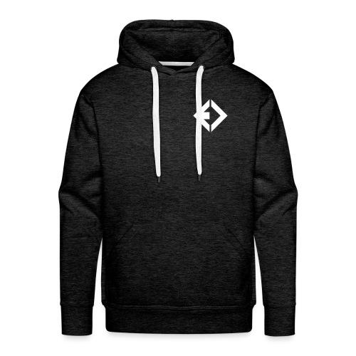 ENAMIC Icon & Logo weiß - Männer Premium Hoodie