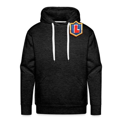 LuFresh Logo Rot - Männer Premium Hoodie