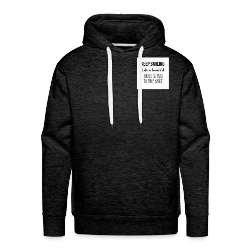 smileing - Men's Premium Hoodie