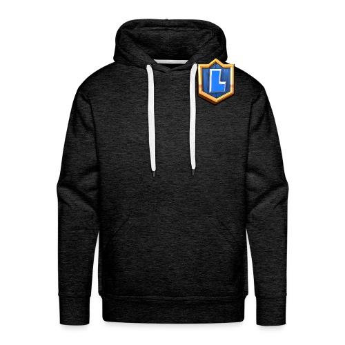 LuFresh Logo Blau - Männer Premium Hoodie