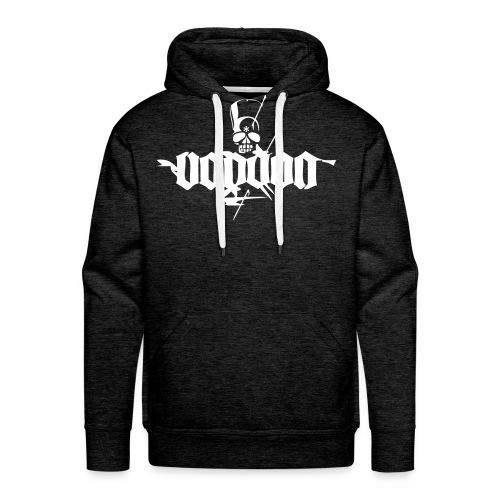 voodoo logo ganz weiss - Männer Premium Hoodie