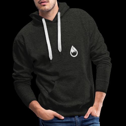 WS-Crew Tropfen-Logo weiß - Männer Premium Hoodie
