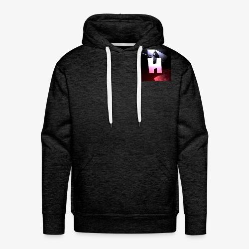 Nieuw logo Hen3Games - Mannen Premium hoodie