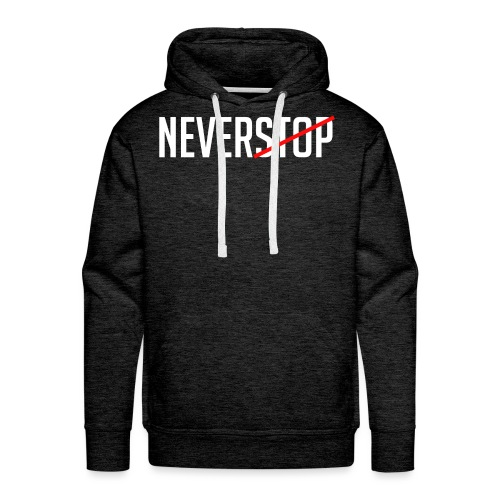 Neverstop - Mannen Premium hoodie