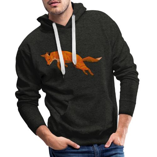 The Quick Brown Fox - Mannen Premium hoodie