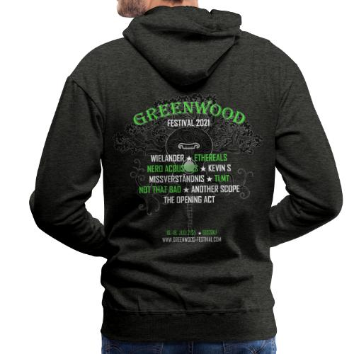 Greenwood Bands 2021 - Männer Premium Hoodie