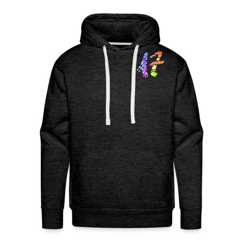 Seventeen logo - Sudadera con capucha premium para hombre