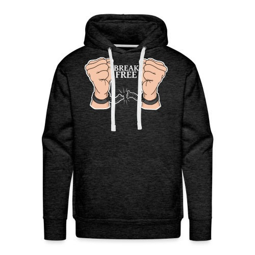 BREAK FREE | Success Designs - Männer Premium Hoodie
