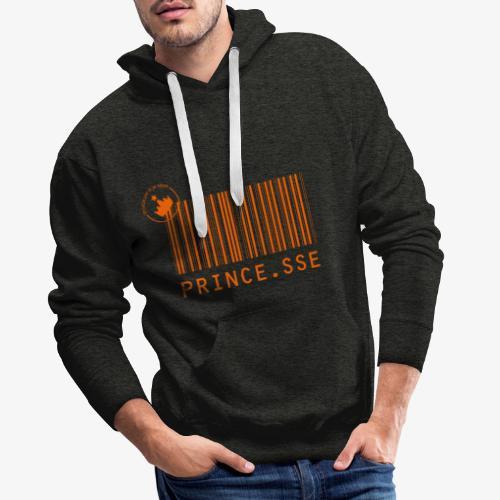 Code barres Prince.sse - Sweat-shirt à capuche Premium pour hommes