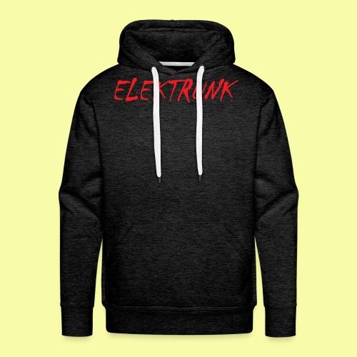ELEKTRUNK - Sweat-shirt à capuche Premium pour hommes