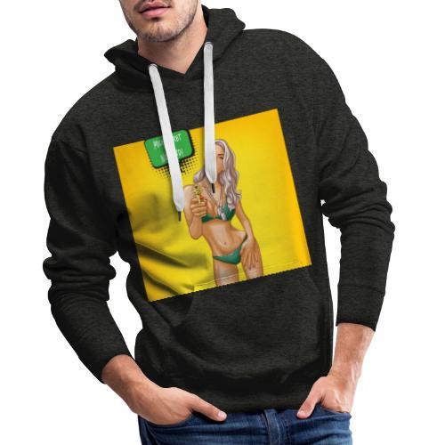 Mich Korbt Niemand T Shirt Design - Männer Premium Hoodie