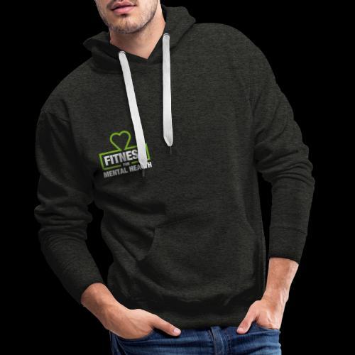 Fitness for Mental Health - Men's Premium Hoodie