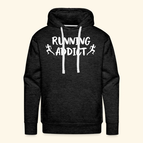 Running Addict Men Männer süchtig nach Laufen - Männer Premium Hoodie
