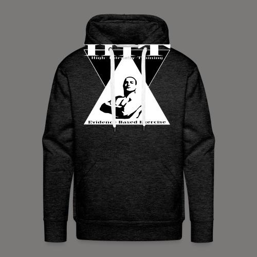 HIT Evidence Based Exercise Dark - Mannen Premium hoodie