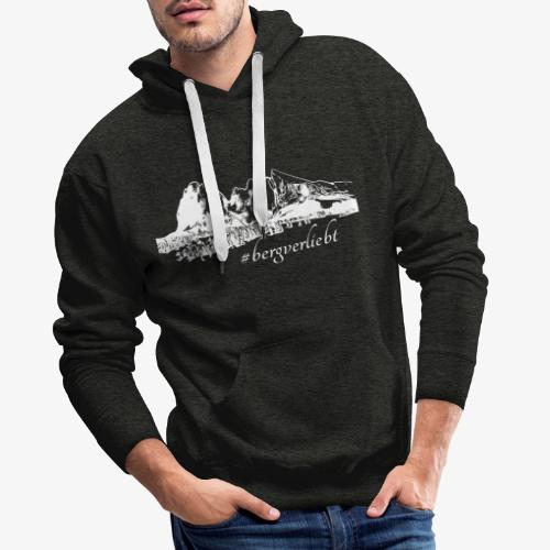 #Bergverliebt - Männer Premium Hoodie