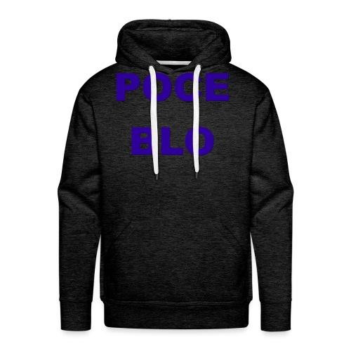 Poce Blo - Sweat-shirt à capuche Premium pour hommes