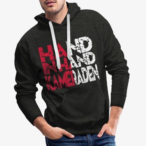Hand In Hand - Mannen Premium hoodie