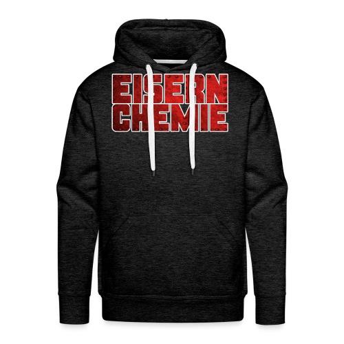 Eiserner Chemie Script Metalloptik - Männer Premium Hoodie