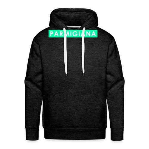Parmigiana Style Green - Felpa con cappuccio premium da uomo
