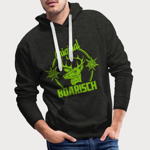 Boarischer Hirsch - Männer Premium Hoodie