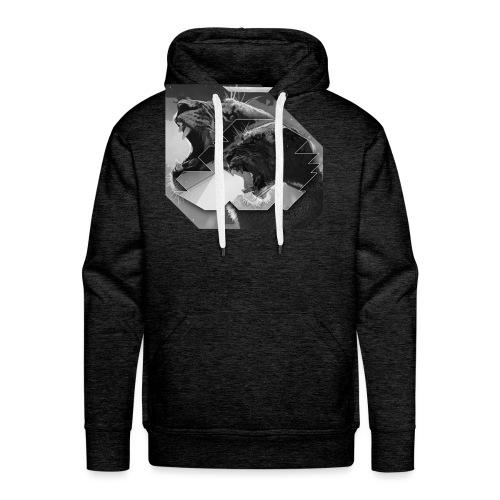 tijger2jackghadr - Mannen Premium hoodie