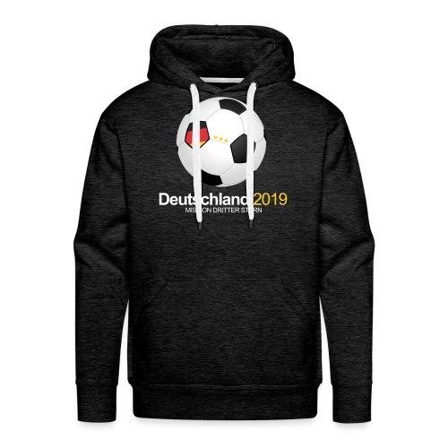 Deutschland Frauen Fussball WM 2019 - Männer Premium Hoodie