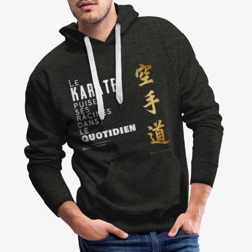 Puisser dans le quotidien - Sweat-shirt à capuche Premium pour hommes