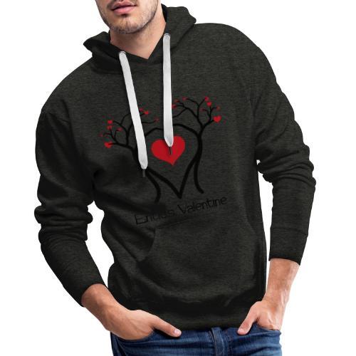 Saint Valentin des Ents - Sweat-shirt à capuche Premium pour hommes