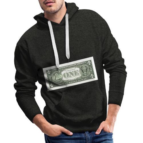 1 Dollar - Männer Premium Hoodie