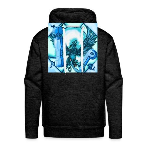Logo du serveur ! - Sweat-shirt à capuche Premium pour hommes