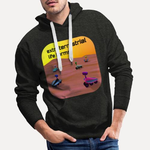 Leben auf dem Mars - Men's Premium Hoodie