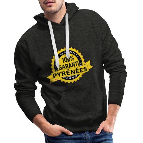 Garanti PYRÉNÉES - Sweat-shirt à capuche Premium pour hommes