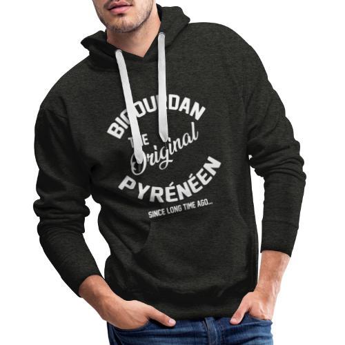 BIGOURDAN - Sweat-shirt à capuche Premium pour hommes