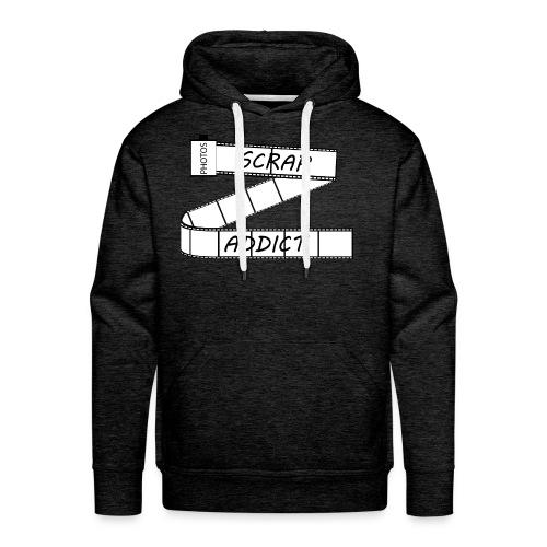 Scrap addict - Sweat-shirt à capuche Premium pour hommes