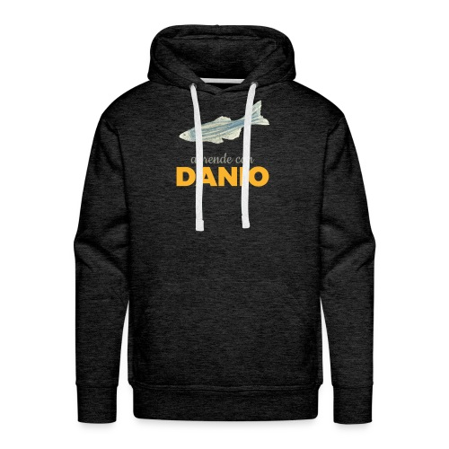 Camisetas Danio Aprende con Danio - Sudadera con capucha premium para hombre