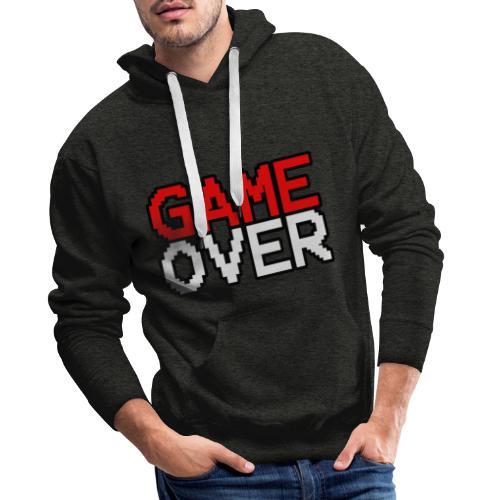 Game Over design - Men's Premium Hoodie