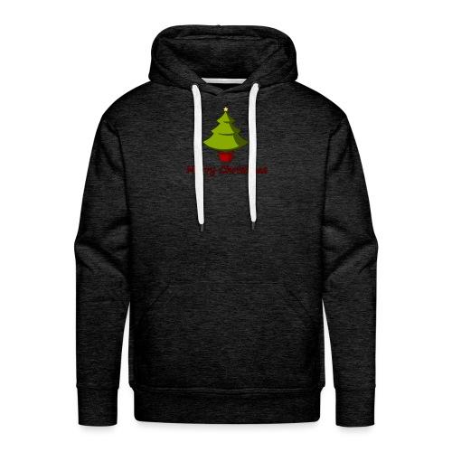 Merry Christmas Design von HoHoHo Merch - Männer Premium Hoodie