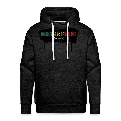 citation marley - Sweat-shirt à capuche Premium pour hommes