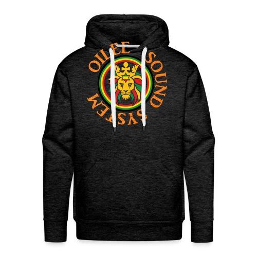 logo oilee sound - Sweat-shirt à capuche Premium pour hommes