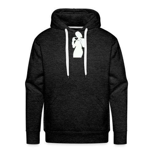 amour design - Sweat-shirt à capuche Premium pour hommes