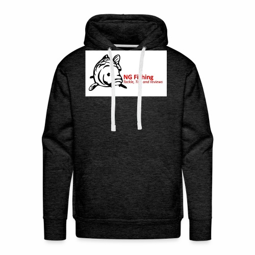 ng fishing logo new - Men's Premium Hoodie