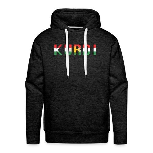 KURDI LOGO - Männer Premium Hoodie