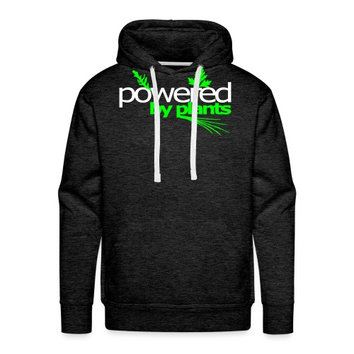 POWERED BY PLANTS - Männer Premium Hoodie
