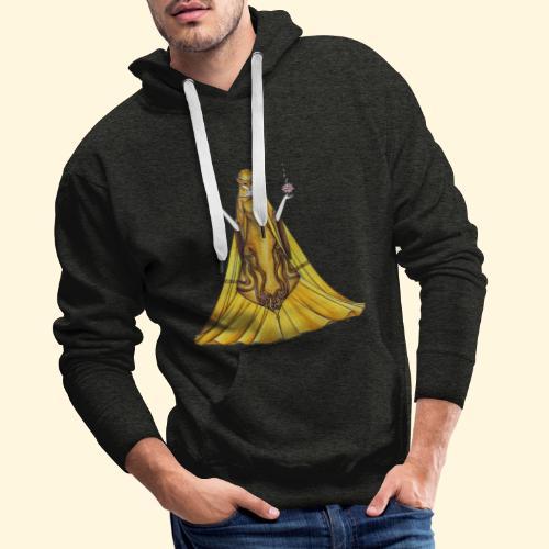 La Justice toute d'or vêtue - Sweat-shirt à capuche Premium pour hommes