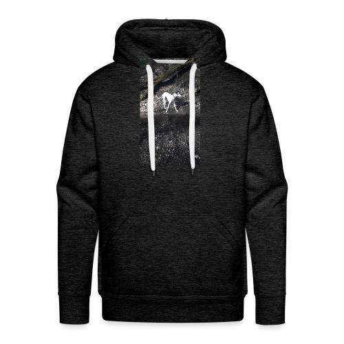 lurcher_love - Men's Premium Hoodie