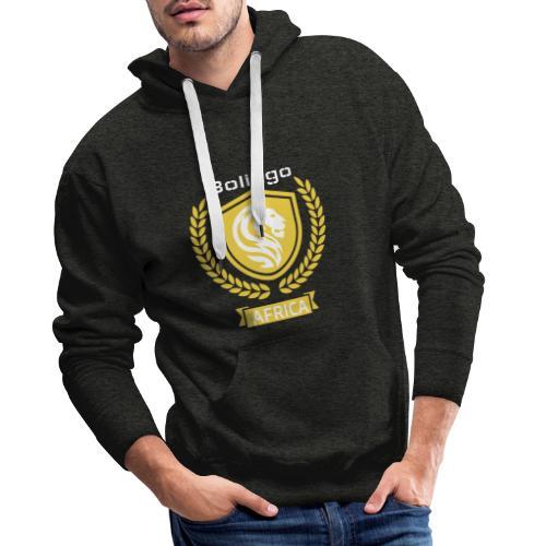 bolingo jaune - Sweat-shirt à capuche Premium pour hommes